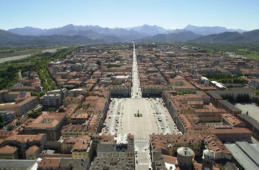 Una veduta di Cuneo