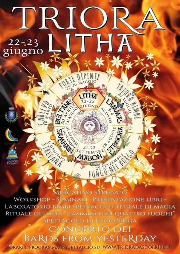 Il 22 ed il 23 giugno Triora festeggerà il solstizio d'estate con 'Litha' ed il 'Cammino dei quattro fuochi'
