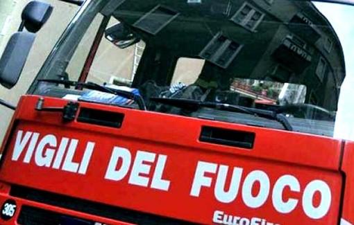 Incendio scantinato a Marene, intervento dei vigili del fuoco