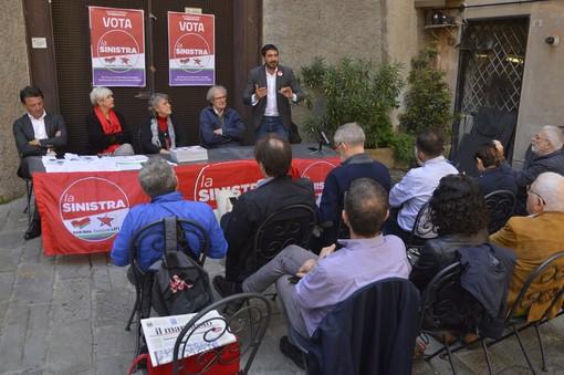 """La Sinistra a Genova per la campagna elettorale: """"Votarci per contrastare le destre"""""""