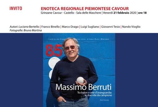 Grinzane Cavour, al castello si presenta il libro sul campione del balon Massimo Berruti