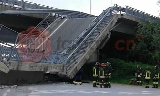 Crollo del viadotto di Fossano: rinviati a giudizio tutti e 16 gli imputati, due con rito abbreviato