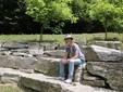 L'anfiteatro dei sassi con le pietre di scogliera all'interno di Agritrutta