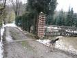 Il recinto con il pascolo nella zona verso la collina di Monserrato