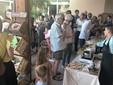 L'inaugurazione del Temporary shop nello scorso mese di agosto a Villanova Mondovì