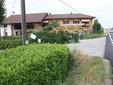 L'ingresso al vivaio dalla strada Cuneo-Saluzzo