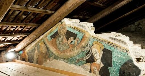 """""""Open day"""" per visitare il prezioso affresco nel sottotetto del Santuario della Madonna dei Boschi a Vezza d'Alba"""