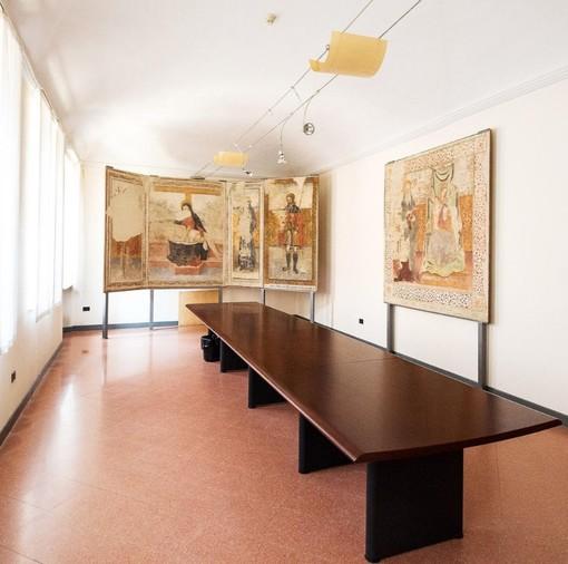 Pregiati affreschi del Cinquecento dalla Madonna del Buontempo a Ceresole d'Alba
