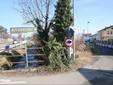 L'imbocco di via David da via Vecchia di Cuneo