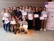 I diplomati del primo Corso di Trasformazione Ortofrutticola dopo l'esame di Stato dello scorso mese di luglio