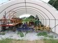 Alcune attrezzature agricole dell'azienda