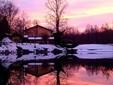 Agritrutta all'alba durante la stagione invernale