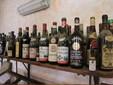 La collezione di bottiglie di vino dal 1950 in poi