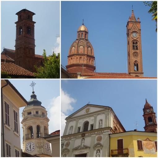 I campanili delle chiese di Sant'Antonino, San Giovanni Battista, Battuti Neri e Battuti Bianchi