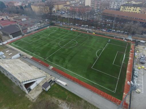 """Il campo sportivo """"Coppino"""" di Alba"""