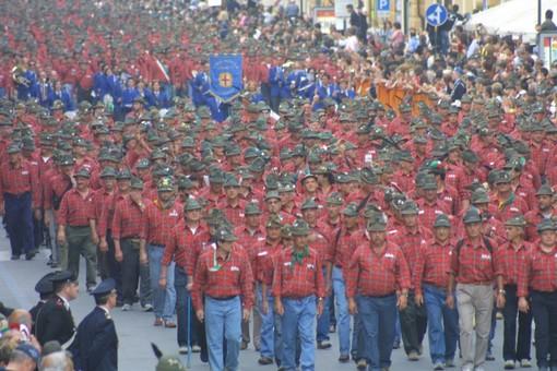 Un'immagine dell'Adunata del 2007