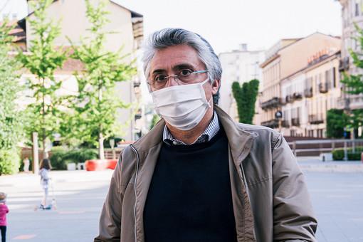 Il sindaco Carlo Bo (foto di Barbara Guazzone)