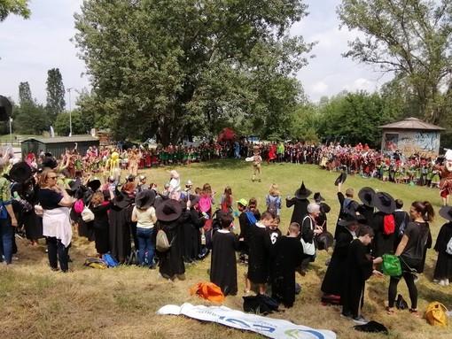"""L'edizione 2019 della """"Festa delle buone energie"""", iniziativa che fino allo scorso anno ha chiuso l'anno delle scuole primarie albesi"""