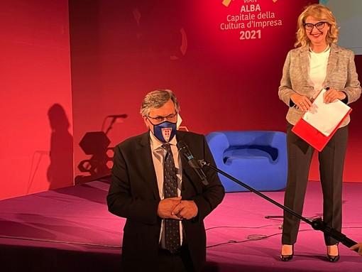 L'intervento dell'assessore regionale Icardi ad Alba Capitale della Cultura d'Impresa