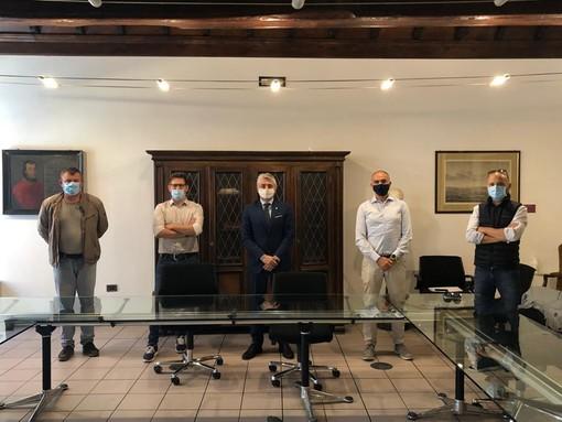 Alba: il sindaco e il consigliere con delega all'Agricoltura hanno incontrato le associazioni di categoria Cia, Coldiretti e Confagricoltura