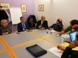 Il direttore generale dell'Asl Massimo Veglio e il responsabile sanitario Mario Traina rispondono alle domande dei consiglieri comunali albesi