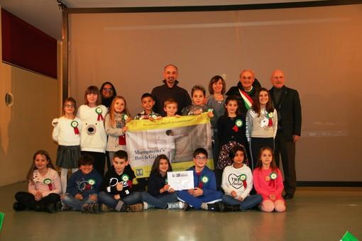 Medaglia d'oro per una classe delle elementari di Sanfrè