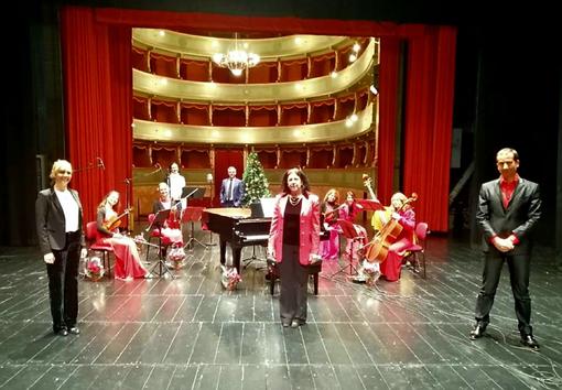 L'ensemble Le Muse e Ginnastica Alba insieme per un concerto di Natale molto speciale