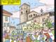 Piccole licenze artistiche nella piazza del Duomo teatro della partenza