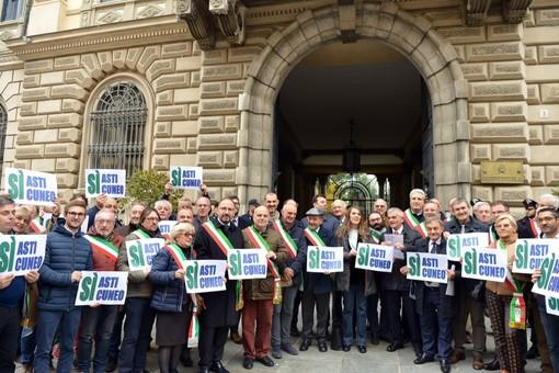 """""""Ho contattato il ministro Toninelli  e il completamento dell'Asti-Cuneo  non è minimamente in discussione"""""""