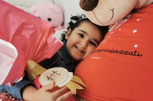 La cuneese Rachele Jbilou è stata testimonial nazionale della campagna Uova di Pasqua Ail 2021