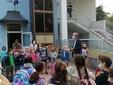 Il sindaco Fogliano alla scuola elementare San Michele