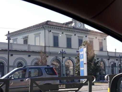 La stazione ferroviaria di Bra