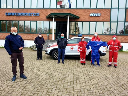 L'Ascom Bra in campo per aiutare il Comitato locale della Croce Rossa
