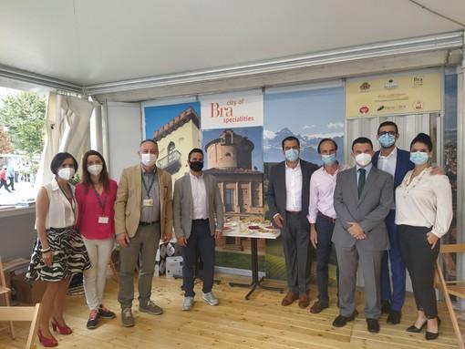 La delegazione arrivata da Zamora, in Spagna
