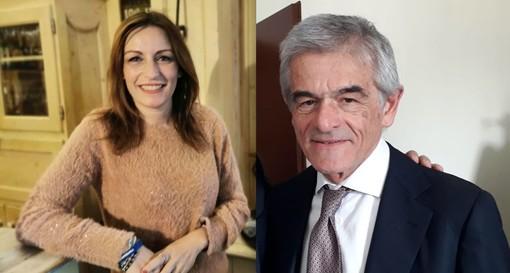 Lucia Borgonzoni e Sergio Chiamparino (foto tratte dai rispettivi profili Facebook)