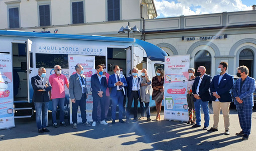 Bra, a Cheese la prima unità mobile vaccinale dedicata ai grandi eventi