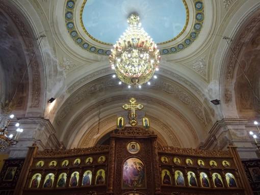 L'interno della chiesa di Santa Caterina d'Alessandria d'Egitto