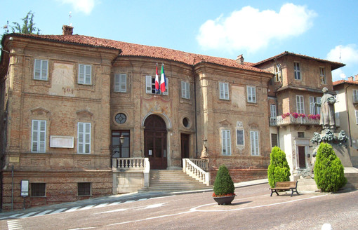 Il Municipio braidese (archivio)