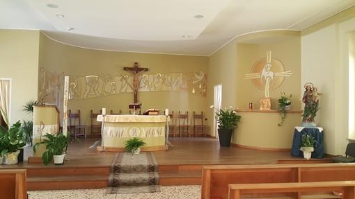 Gli interni della chiesa dell'Istituto San Domenico Savio, appena rivisti