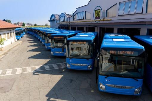 I nuovi mezzi acquistati dalla Bus Company