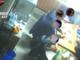 Un momento di una riunione di alcuni degli affiliati della presunta 'locale' ripreso una telecamera nascosta dai carabinieri