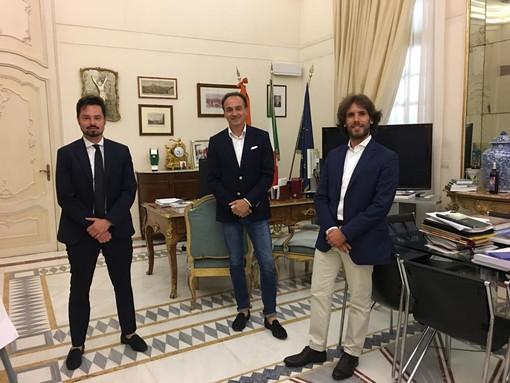 Alberto Cirio, Agostino Trucco e Alberto Deninotti