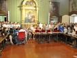 Parte del pubblico intervenuto al primo Consiglio Comunale di Alba dell'era Bo