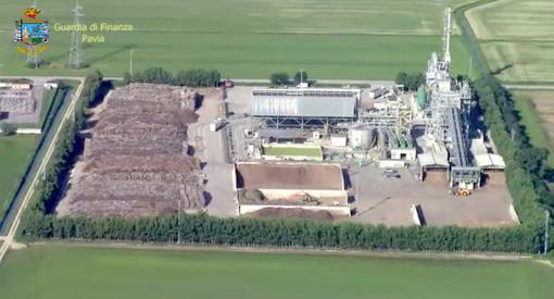 La centrale a biomasse Biolevano