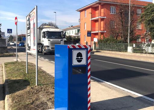 I due dispositivi installati nella frazione di Santa Vittoria d'Alba