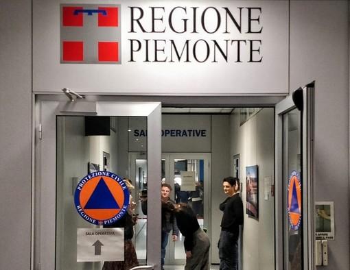 L'unità di crisi della Regione Piemonte