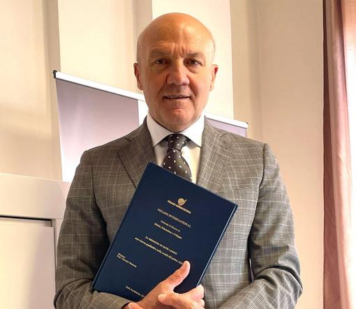 Carmine Maffettone, 59 anni, direttore del Convitto Provvidenza International School e delle sedi Pegaso e Mercatorum di Cuneo, Alba, Bra, Barolo e Imperia