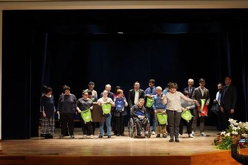 La premiazione dei ragazzi del Centro Diurno della Cooperativa Insieme