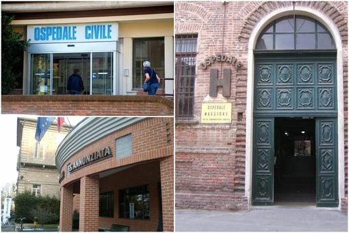L'ingresso degli ospedali di Saluzzo, Savigliano e Fossano