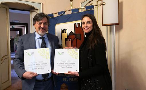 La consegna del premio al sindaco Luigi Genesio Icardi